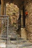 Straat in Triora 4 Stock Foto