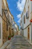 Straat in Ubeda, Spanje Stock Afbeeldingen