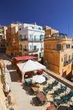 Straat in Valletta, Malta Stock Afbeelding