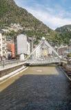 Straat van Andorra Royalty-vrije Stock Afbeeldingen