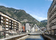 Straat van Andorra Royalty-vrije Stock Foto