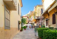 Straat van Athene, Griekenland royalty-vrije stock fotografie