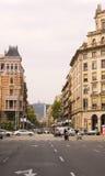 Straat van Barcelona Royalty-vrije Stock Afbeeldingen