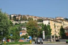 Straat van Bergamo royalty-vrije stock foto's