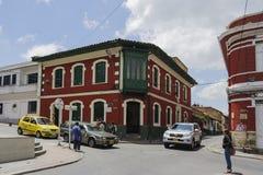 Straat van Bogota, Colombia Royalty-vrije Stock Foto's
