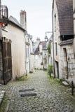 Straat van Bourges, Bourges, Frankrijk royalty-vrije stock afbeelding