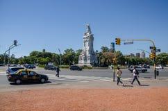 Straat 2 van Buenos aires stock afbeelding