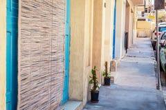 Straat van Bugibba, Malta Royalty-vrije Stock Afbeelding
