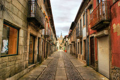 Straat van Caminha Royalty-vrije Stock Foto