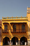 Straat van Cartagena DE Indias, Colombia Royalty-vrije Stock Foto's