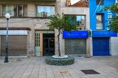 Straat van Castellon Stock Foto's