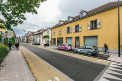 Straat van Colmar royalty-vrije stock foto's