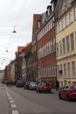 Straat van copenahagen Royalty-vrije Stock Fotografie