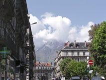 Straat van Grenoble 2 Royalty-vrije Stock Afbeelding