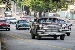 Straat van Havana Stock Afbeelding