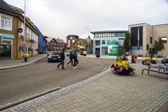 Straat van Heninsbaerg Royalty-vrije Stock Foto's