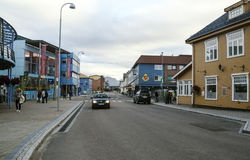 Straat van Heninsbaerg Stock Afbeeldingen