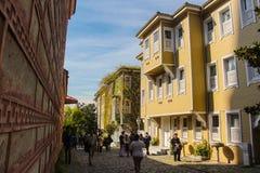 Straat van Istanboel Royalty-vrije Stock Afbeeldingen