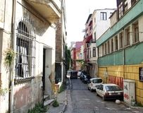 Straat van Istanboel stock afbeeldingen
