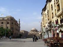 Straat van Kaïro stock foto's