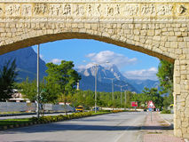 Straat van Kemer, Turkije Royalty-vrije Stock Foto