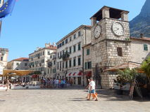 Straat van Kotor stock fotografie