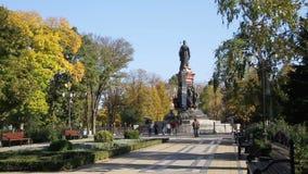 Straat van Krasnodar stock videobeelden