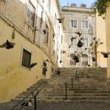 Straat van Lissabon Stock Afbeelding