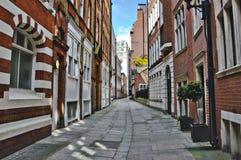 Straat van Londen Royalty-vrije Stock Foto's