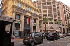Straat van Monaco Stock Foto's