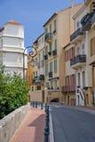 Straat van Monaco royalty-vrije stock fotografie