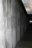 Straat van muur de Herdenkingsbernauer, Berlijn, Duitsland royalty-vrije stock foto's