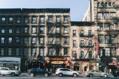 Straat van New York Royalty-vrije Stock Foto's