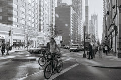 Straat van New York Stock Foto's