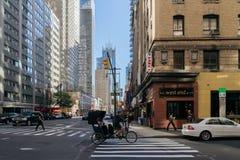 Straat van New York Royalty-vrije Stock Afbeelding