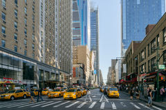 Straat van New York Stock Foto