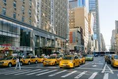 Straat van New York Royalty-vrije Stock Fotografie