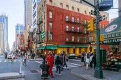 Straat van New York Stock Afbeelding