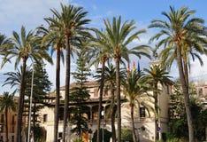 Straat van Palma DE Majorca Stock Afbeelding