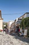 Straat van Pampaneira royalty-vrije stock afbeelding