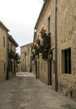 Straat van Pedraza royalty-vrije stock afbeelding