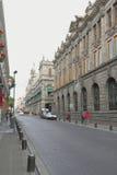 Straat van Puebla I Royalty-vrije Stock Afbeeldingen