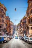 Straat van Rome stock afbeelding