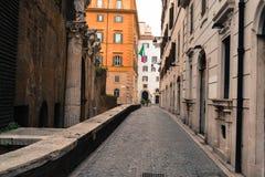 Straat van Rome Royalty-vrije Stock Foto's