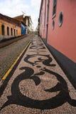 Straat van Saoluis van maranhao Brazilië stock afbeelding