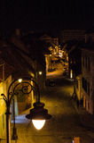 Straat van Sibiu Stock Foto's
