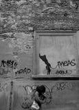 Straat van Spanje Stock Foto
