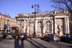 Straat van St. Petersburg Stock Foto