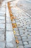 Straat van stenen Stock Foto