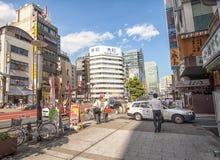 Straat van Tokyo Royalty-vrije Stock Afbeeldingen